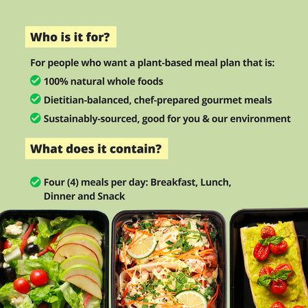 BALANCED LIFE Meal Plan (1500 calories per day)
