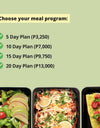 PLANT LIFE Meal Program (1400 calories per day)