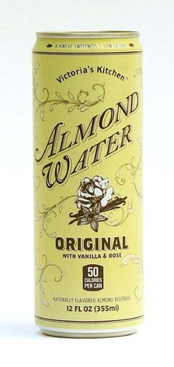 almond water original 12oz pack of 12 - Victorias Kitchen Almond Water