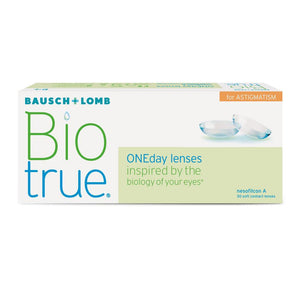 Biotrue® ONEday for Astigmatism (30pcs/box)