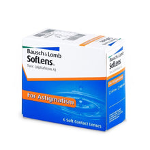 Load image into Gallery viewer, SofLens® 66 Toric for Astigmatism (6pcs/box)