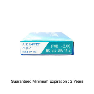 AIR OPTIX® AQUA (6pcs/box)