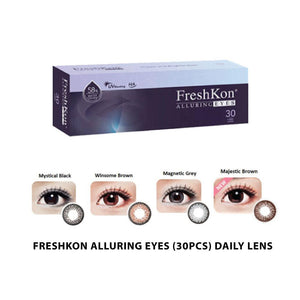 FreshKon® Alluring Eyes Daily (30pcs/box)