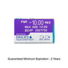 Load image into Gallery viewer, DAILIES® AquaComfort Plus® Multifocal (30pcs/box)