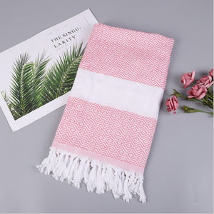 180x100cm Organic 100%Cotton Turkish Peshtemal Authentic Towel Spa Gym Pool Beach Bath Hammam Authentic Beach Towel