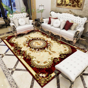 Alibaba Hot Sale Modern Soft Persian Carpet Rug For Living Room Non-slip Antifouling Carpet Bedroom Parlor Factory Direct Supply