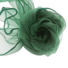 Load image into Gallery viewer, Hot Sale Organza Chair Sashes Bow Cover chair sashes tulle For Weddings Events &Party Banquet Christmas Decoration mint green