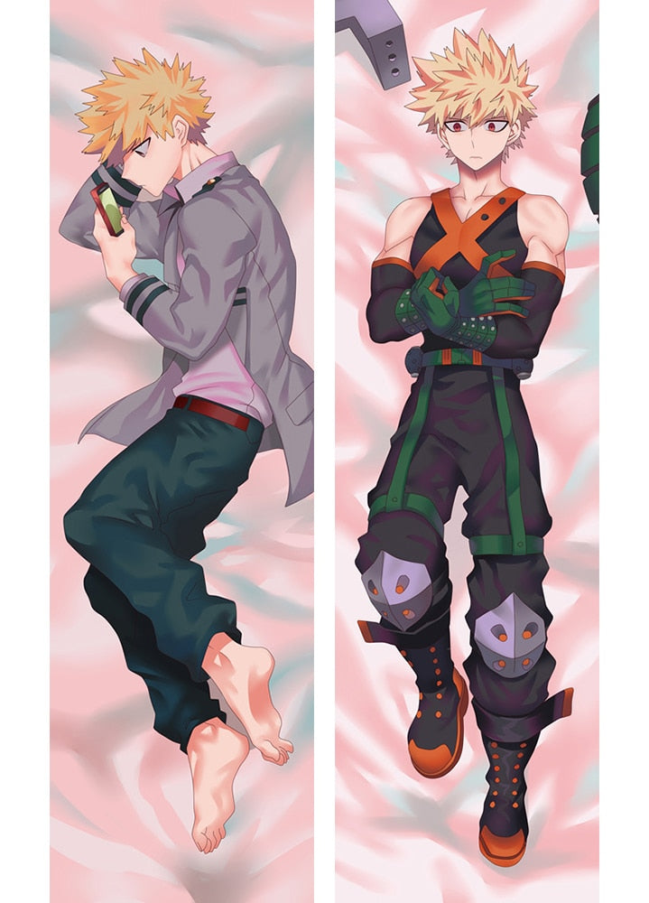 My Hero Academia Katsuki Bakugo Japanese Anime Hugging Body Dakimakura Pillow Cover Case