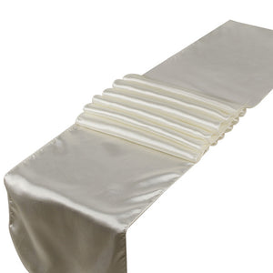 Satin Table Runners For Wedding Party Decoration Modern Table Runner New Year Decor For Home 30cm x 275cm