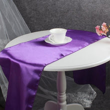 Load image into Gallery viewer, OurWarm 30x275cm Satin Table Runners Modern Table Runner Cloth for Wedding Marriage Banquet Hotel Home Party Table Decoration