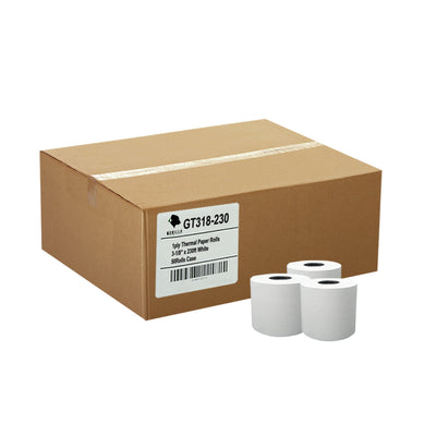 (50) 3-1/8 x 230' Thermal Paper Rolls TM-T88 T-20 T-90 Bixolon SRP-350 370
