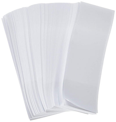 "Gorilla Supply White Napkin Bands 1.5"" x 4.25"" (Pack of 2500)"