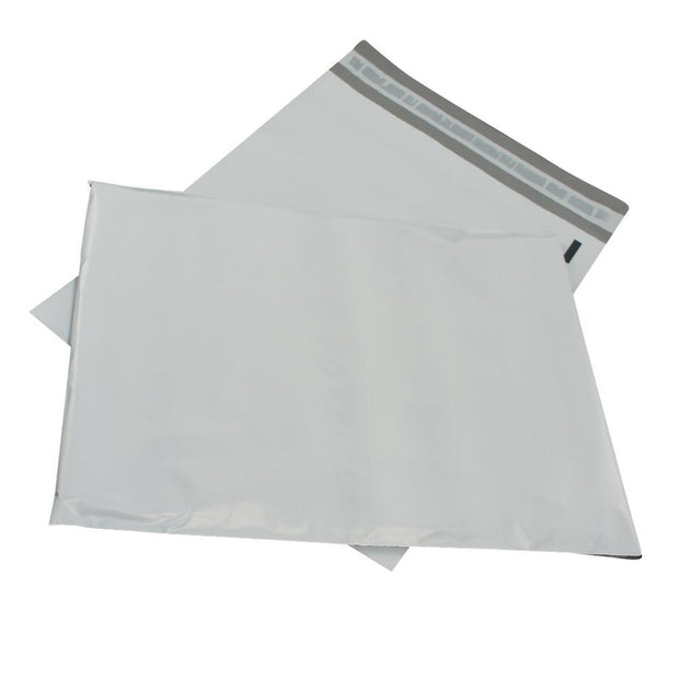 "100 Bagtron #0 Poly Mailer Bags 6"" x 9"" Shipping Envelopes Grey 2mil"