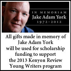 Jake Adam York Memorial Scholarship