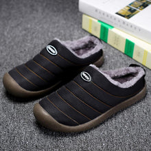 Load image into Gallery viewer, Men's Casual Fashion Solid Waterproof Soft Warm Slippers - zonechics