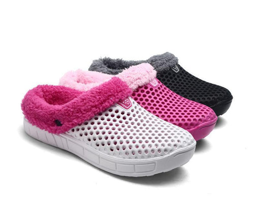 Large Size Unisex Winter Slippers Plus Velvet - zonechics