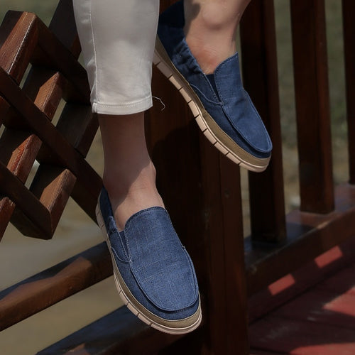 Men Canvas Lightweight Casual Shoes - zonechics