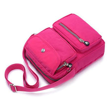 Load image into Gallery viewer, Multi-pocket Nylon Shoulder Bag - zonechics