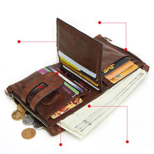Load image into Gallery viewer, Men's RFID Card Holder Wallet - zonechics