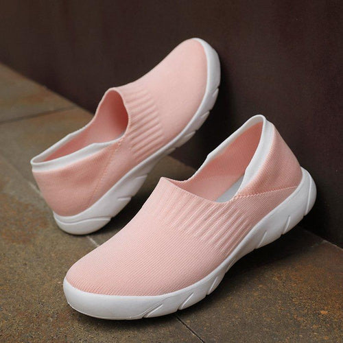 Women's Casual Sneakers Lightweight Super Soft Slip ons - zonechics
