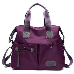 Waterproof Women Oxford Capacity Shoulder Bag - zonechics