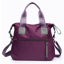 Load image into Gallery viewer, Waterproof Women Oxford Capacity Shoulder Bag - zonechics
