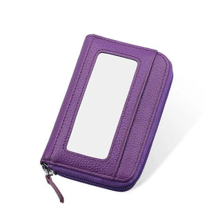 Large Capacity RFID Folding Wallet Card Holder - zonechics