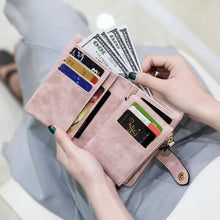 Load image into Gallery viewer, Tri-fold Multi-card Lady Wallet - zonechics