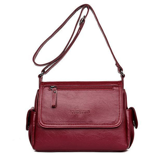 Women Soft Crossbody Shoulder Bags - zonechics