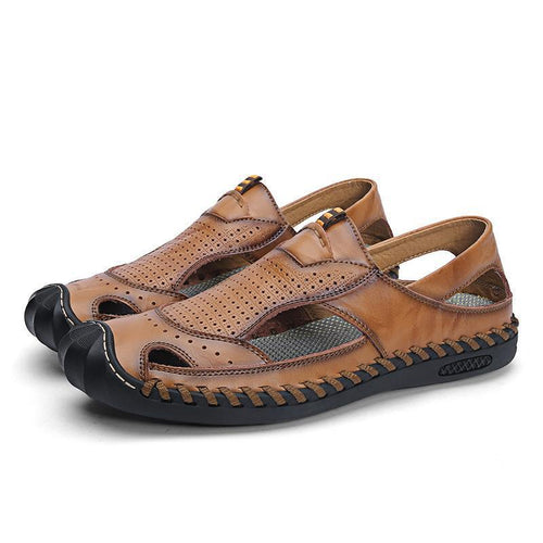 Mens Closed Toe Sandals Comfortable Outdoor Sandal Shoes - zonechics