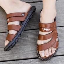 Load image into Gallery viewer, Men's Casual Sandals With Buckle Sandal Slippers - zonechics