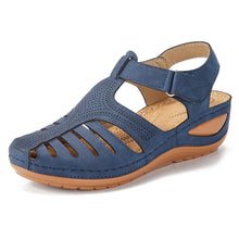 Load image into Gallery viewer, Women Sandals Hollow Out Lightweight Hook Loop Platform Sandals - zonechics