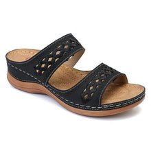 Load image into Gallery viewer, Women's Wedges Sandals Hook Loop Casual Beach Gladiator Sandals - zonechics