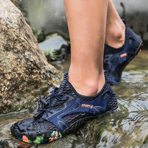 New Men's Water Shoes Quick-drying Hiking River Shoes - zonechics
