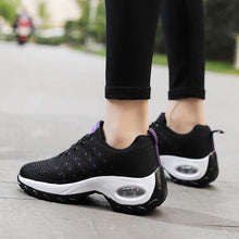 Load image into Gallery viewer, Women Flying Woven Air Cushion Sneakers - zonechics
