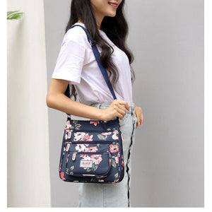 Printing Shoulder Bag Wild Oxford Cloth Messenger Bag - zonechics