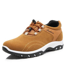 Load image into Gallery viewer, Men's Leather Sneakers Waterproof For Outdoor Athletic Sports - zonechics