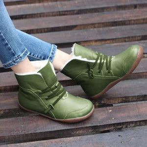 Women's Warm Snow Winter Casual Comfy Ankle Booties - zonechics