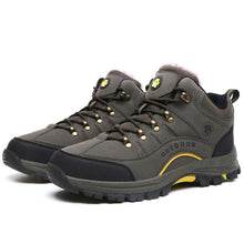 Load image into Gallery viewer, Men Plus Velvet Warm Cotton Outdoor Sports Hiking Shoes - zonechics