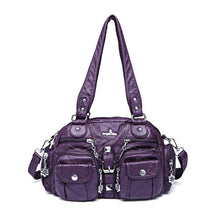 Load image into Gallery viewer, Solid Color Fashion Dumplings Messenger Bag - zonechics