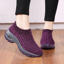 Load image into Gallery viewer, Women's Casual Sneakers With Air Cushion Socks Shoes - zonechics