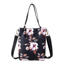 Load image into Gallery viewer, Multifunctional Floral Print Shoulder Bag - zonechics