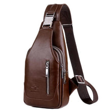 Load image into Gallery viewer, Men's Anti-theft Vintage Sling Bag - zonechics