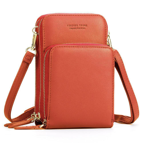 Multi-Pocket Crossbody Phone Bag - zonechics