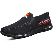 Load image into Gallery viewer, Men Canvas Casual Shoes Low Top Comfy Slip-on Shoes - zonechics