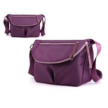 Load image into Gallery viewer, Solid Color Waterproof Casual Crossbody Bag - zonechics