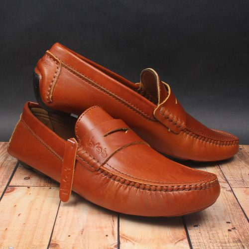 Men Simple Comfy Slip-on Flat Heel Shoes - zonechics