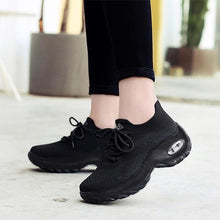 Load image into Gallery viewer, Women's Comfortable Sneakers Woven Anti-slip Athletic Shoes - zonechics