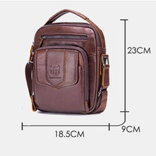 Load image into Gallery viewer, Men's Casual Leather Business Vintage Crossbody Bag - zonechics