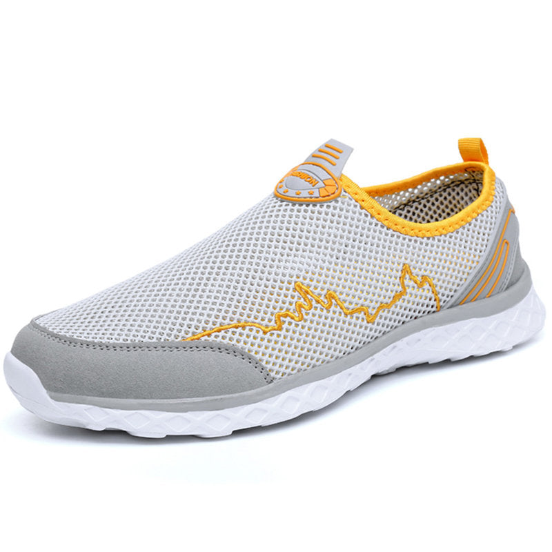 Large Size Men Mesh Non-slip Outdoor Upstream Shoes - zonechics